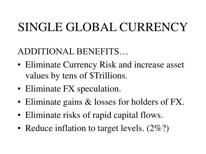 Single global currency3