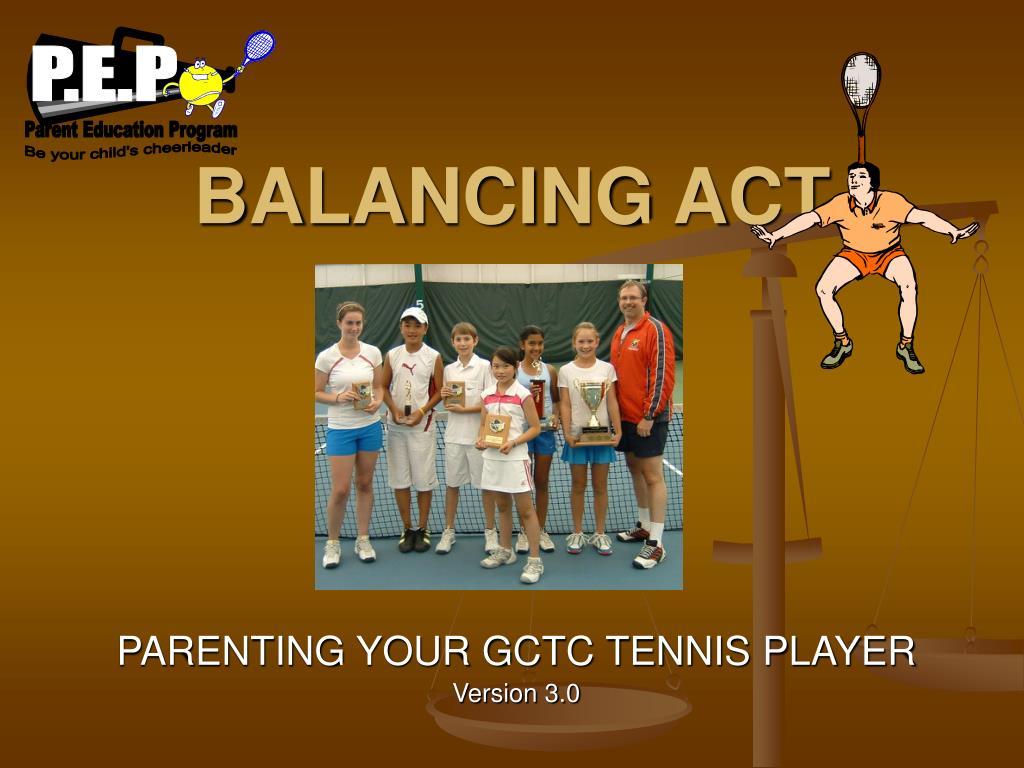 balancing act l.