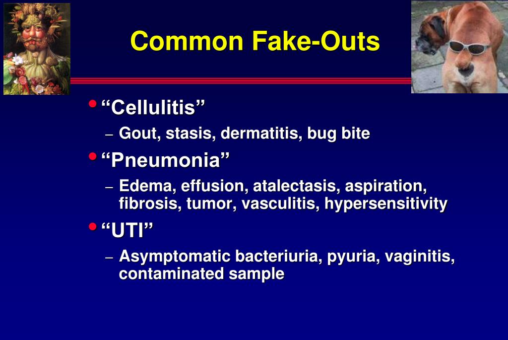 Common Fake-Outs