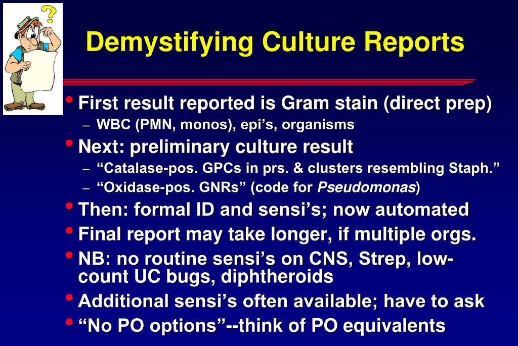 Demystifying Culture Reports
