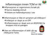 inflammasjon innen tcm er ild1