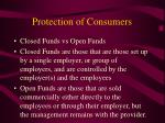 protection of consumers
