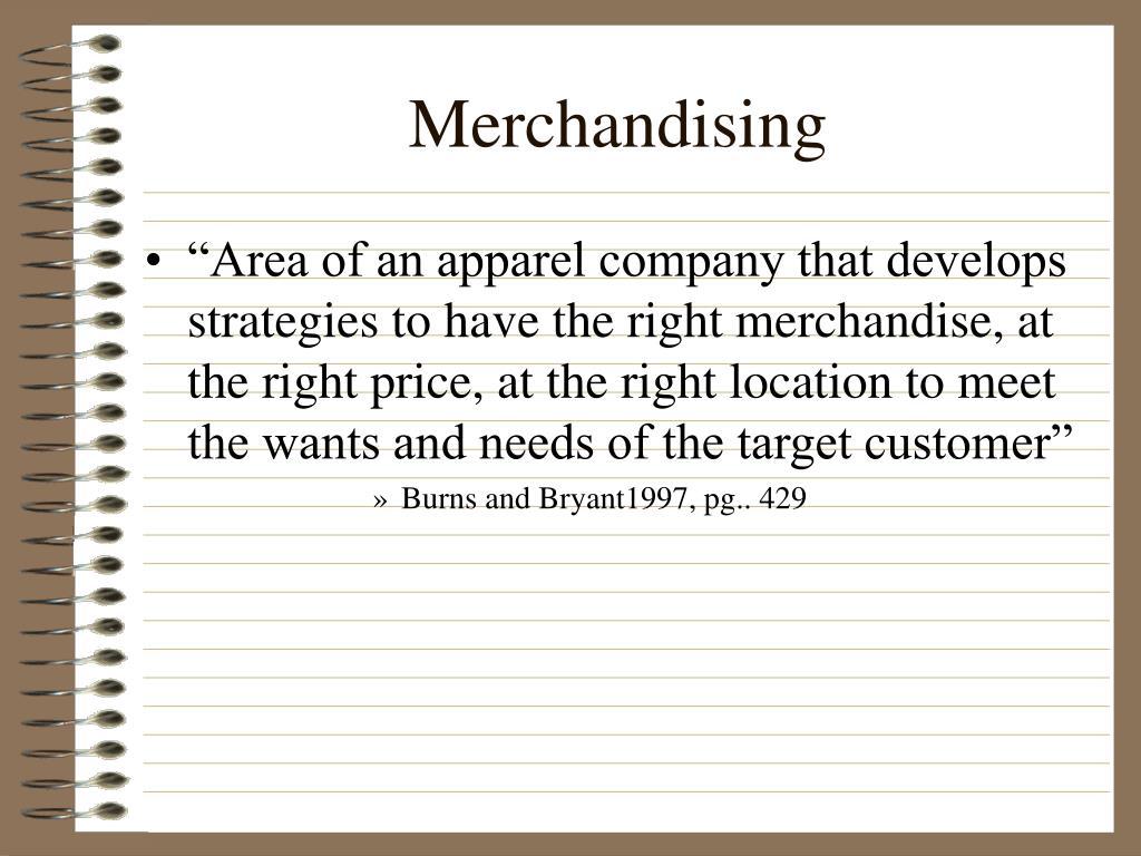 merchandising l.