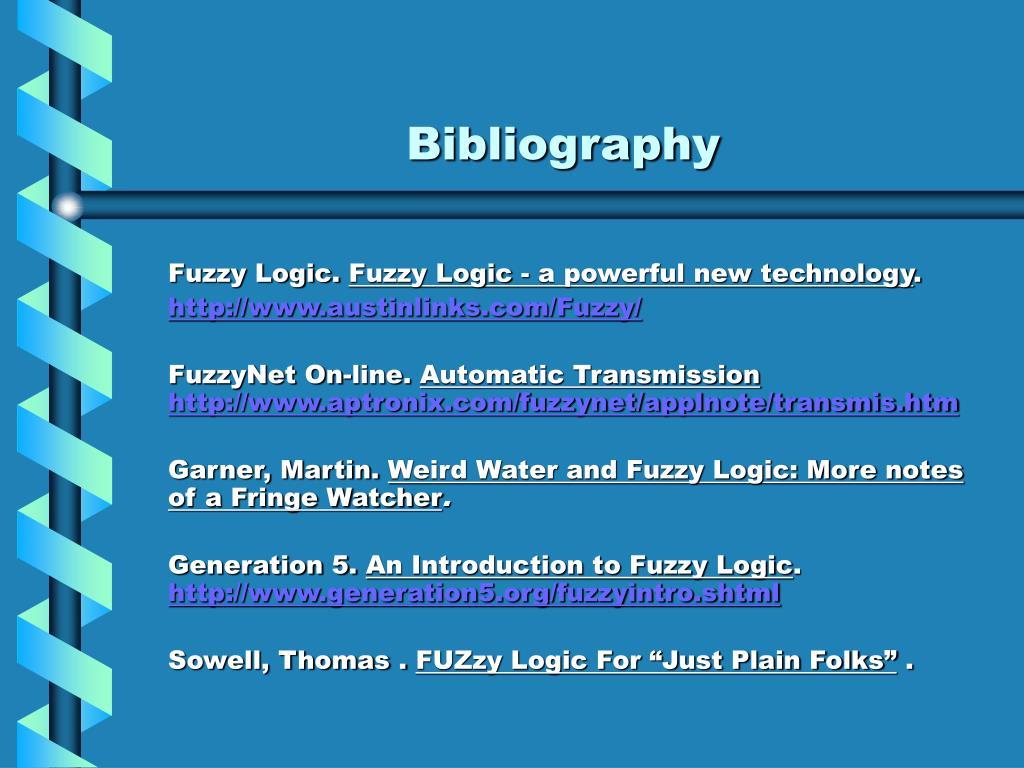 PPT - Fuzzy Logic PowerPoint Presentation - ID:326998