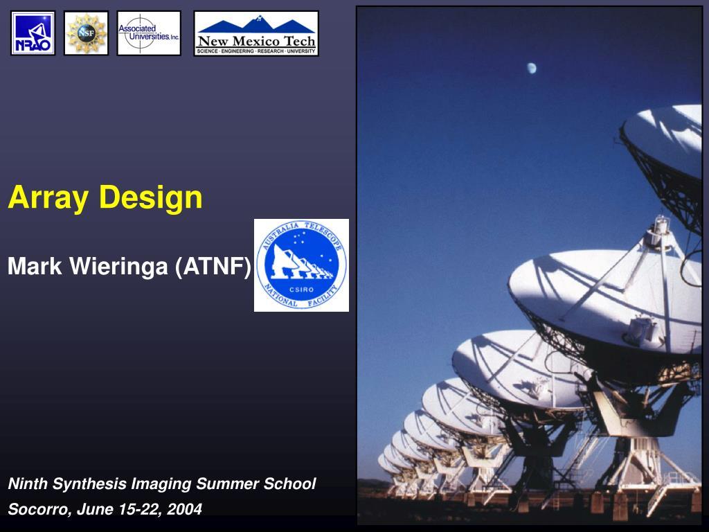 array design l.