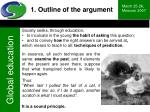 1 outline of the argument3