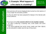 2 example what happens if a fire starts in a building15