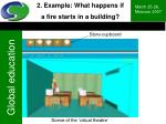 2 example what happens if a fire starts in a building16