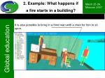 2 example what happens if a fire starts in a building21