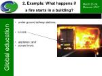 2 example what happens if a fire starts in a building26