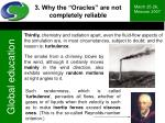 3 why the oracles are not completely reliable33