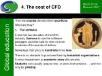 4 the cost of cfd