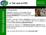 4 the cost of cfd40