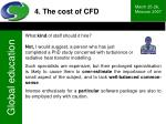4 the cost of cfd41