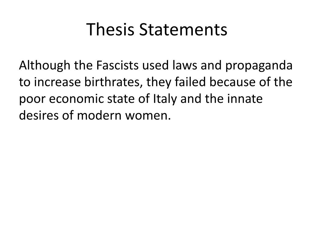poor thesis statement The thesis statement a thesis statement is a single sentence which expresses the idea an essay will develop a good thesis a poor thesis.