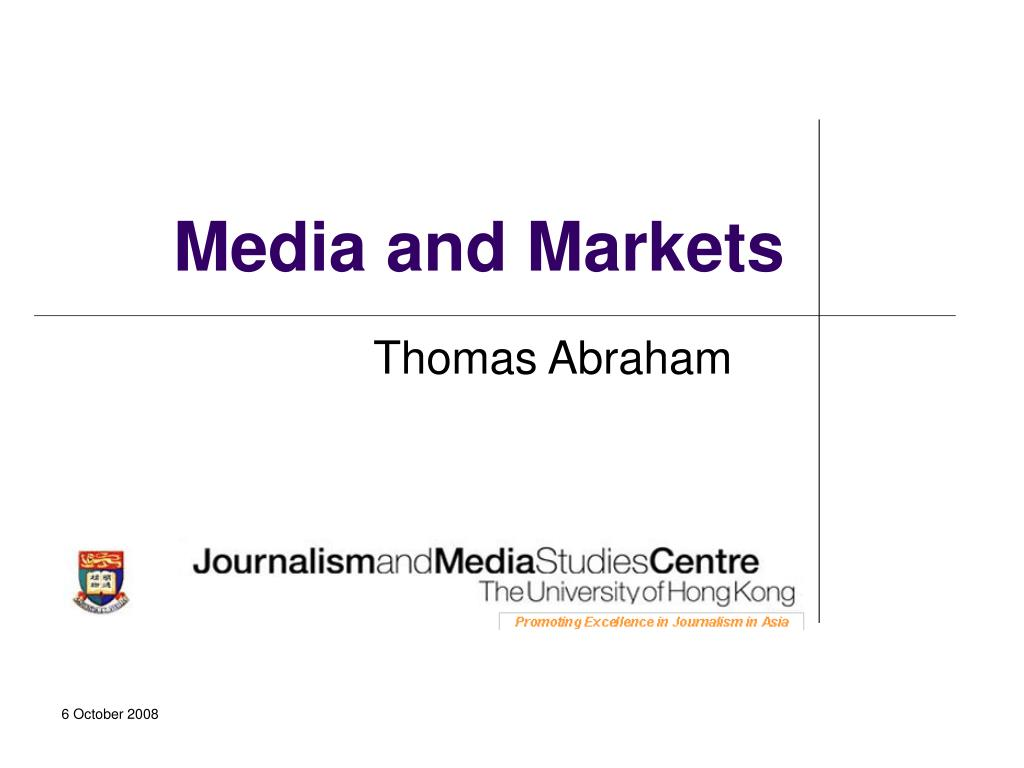 media and markets l.