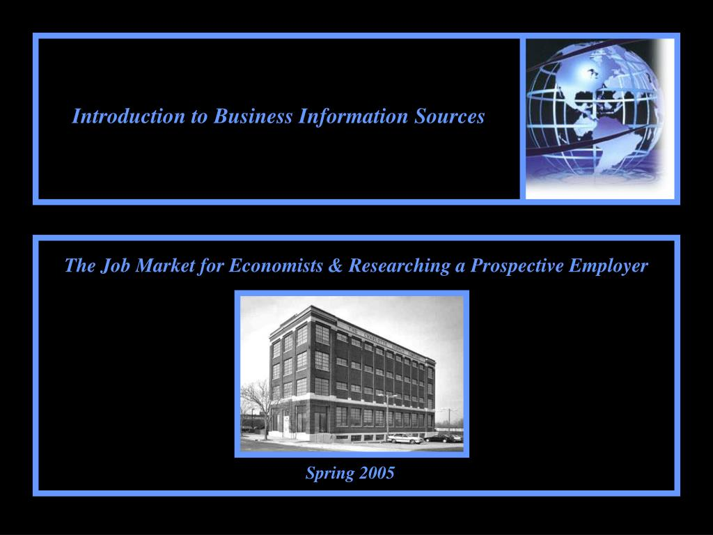 introduction to business information sources l.