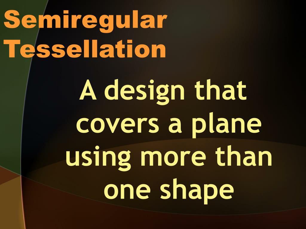 Semiregular Tessellation