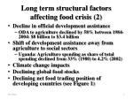 long term structural factors affecting food crisis 2