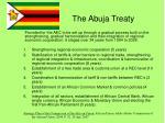 the abuja treaty