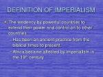definition of imperialism
