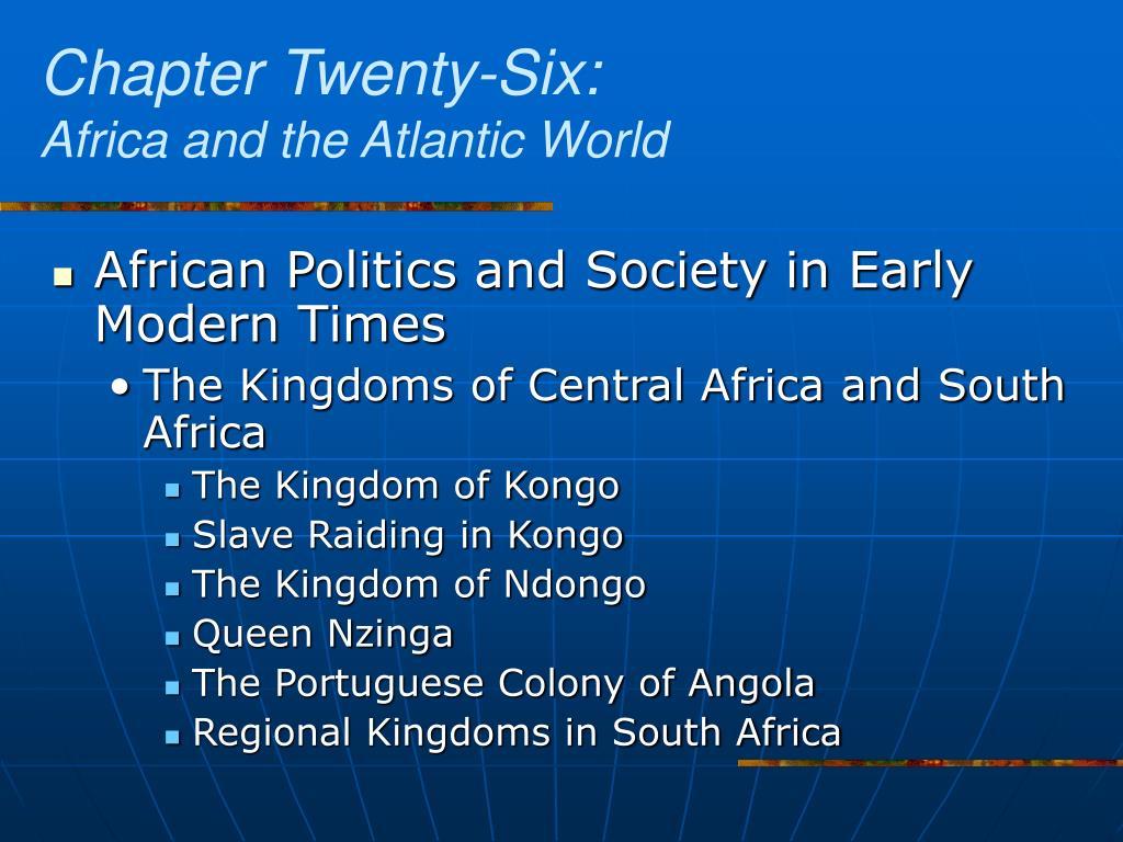 Chapter Twenty-Six:
