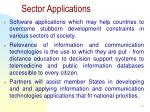 sector applications