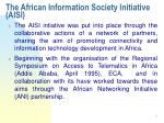 the african information society initiative aisi9