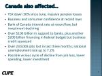 canada also affected