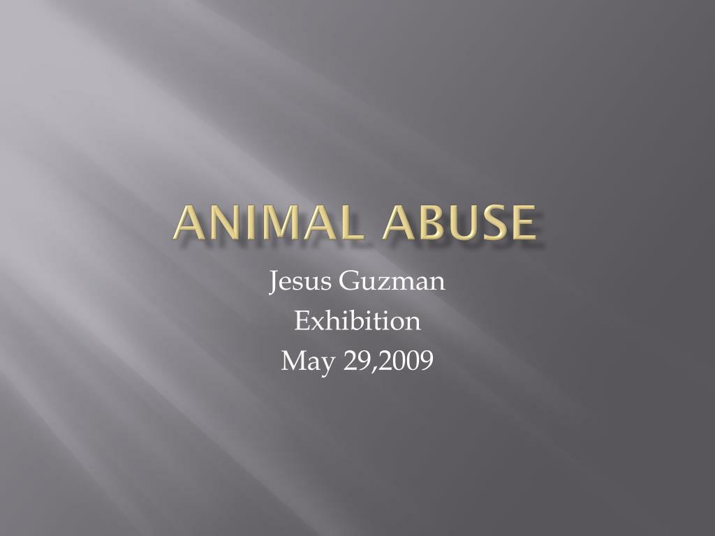 animal abuse l.