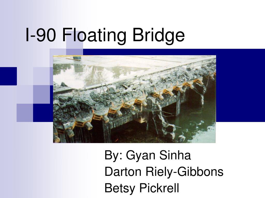 i 90 floating bridge l.