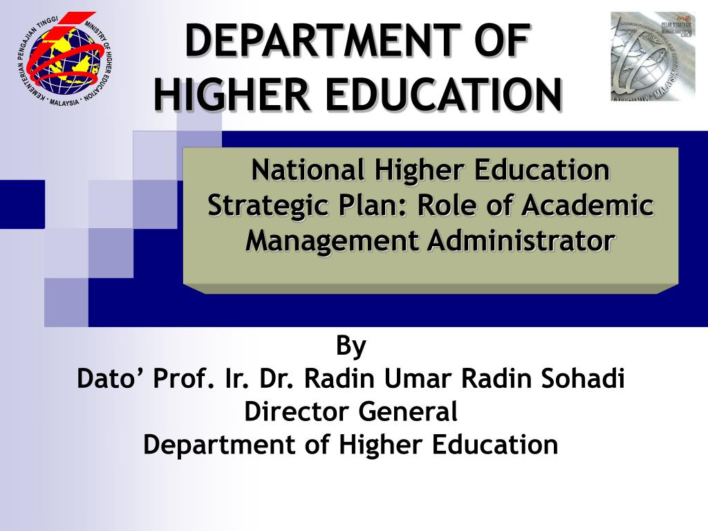 department of higher education