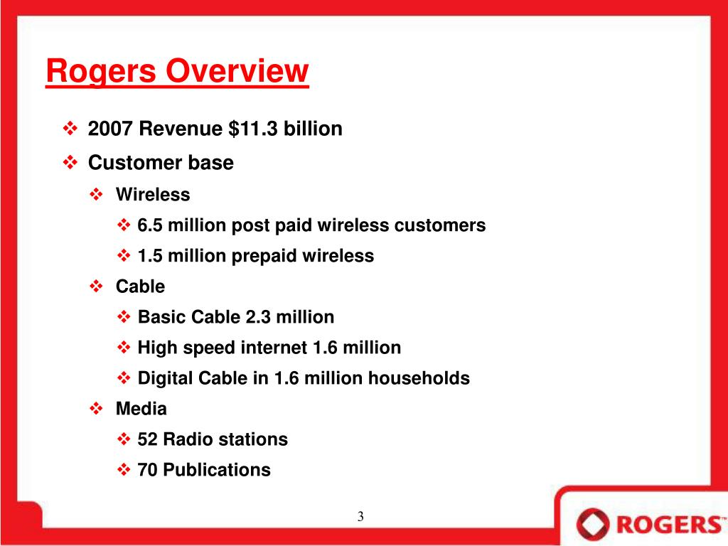 Rogers Overview