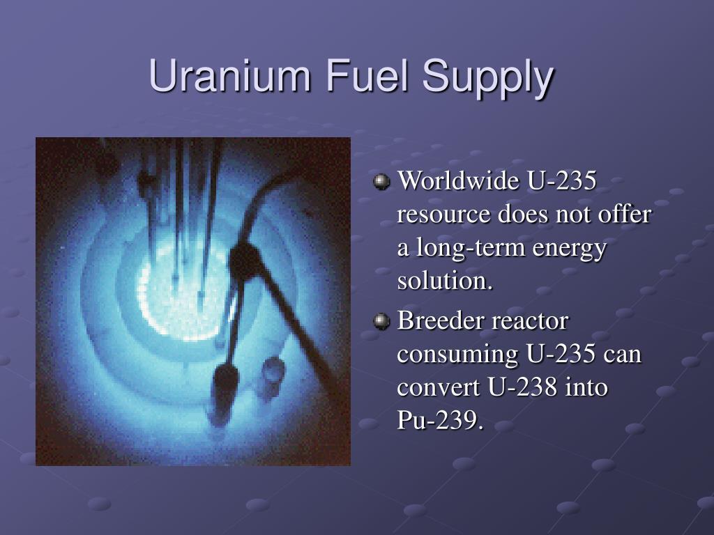 Uranium Fuel Supply