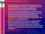 key recommendations cont d