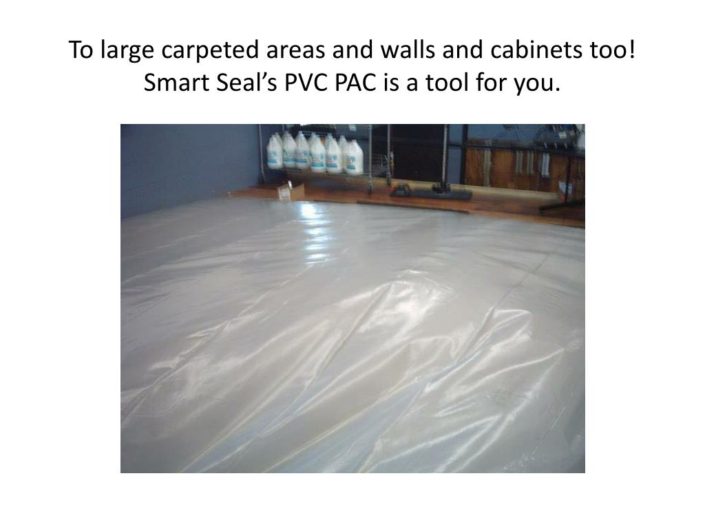 To large carpeted areas and walls and cabinets too!