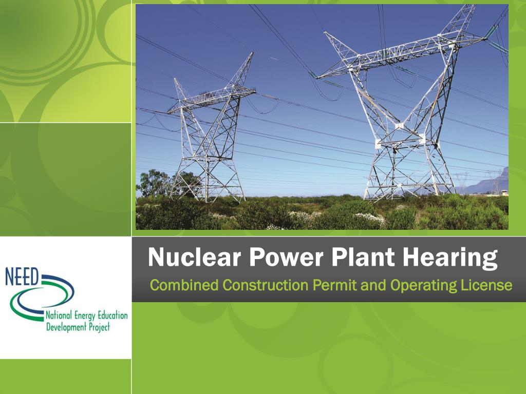 nuclear power plant hearing l.