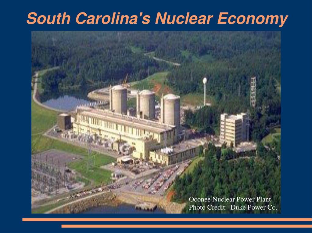 South Carolina's Nuclear Economy