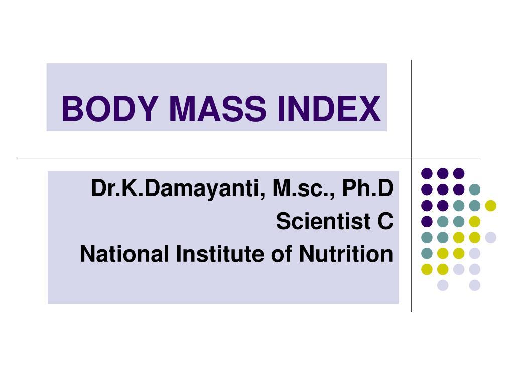 body mass index l.