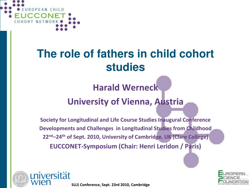 The role of fathers in child cohort studies