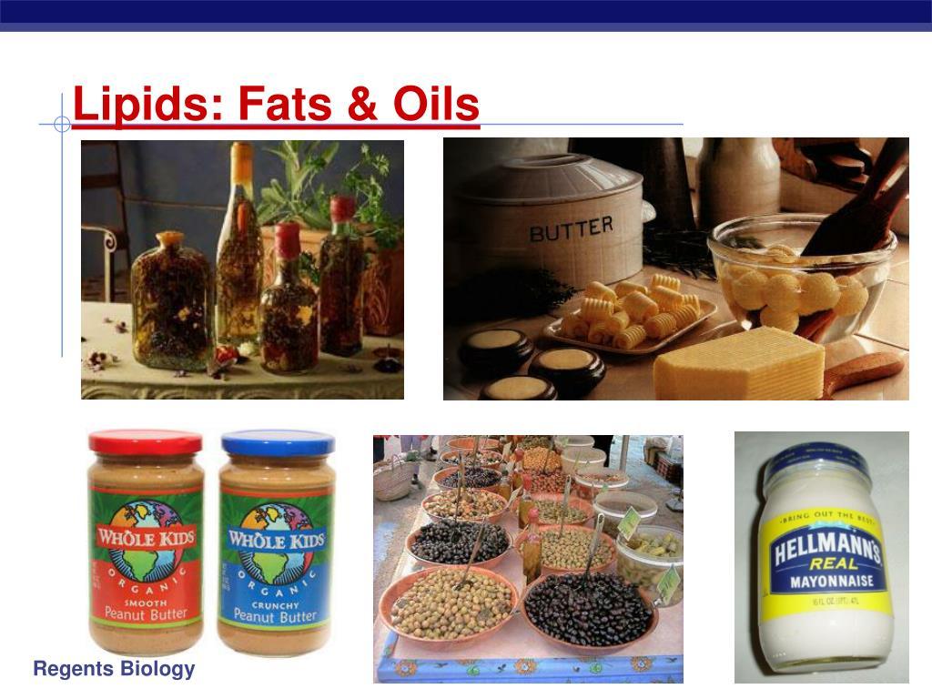 ppt - lipids: fats & oils powerpoint presentation - id:328562
