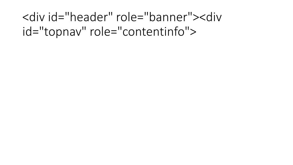 "<div id=""header"" role=""banner""><div id=""topnav"" role=""contentinfo"">"