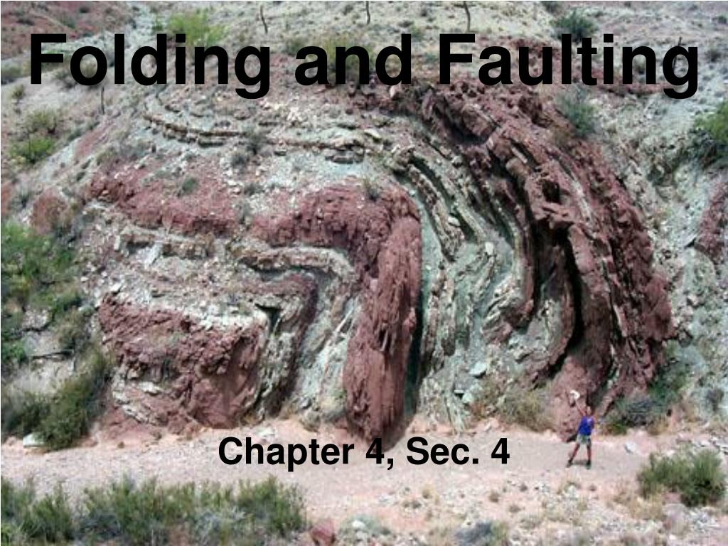 ppt folding and faulting powerpoint presentation id 328618