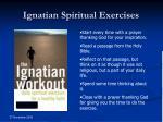 ignatian spiritual exercises