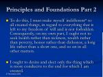 principles and foundations part 2