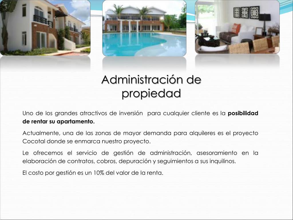 Administración de propiedad
