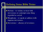 defining some bible terms6