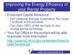 improving the energy efficiency of your rental property19