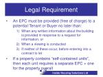 legal requirement12
