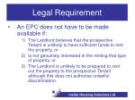 legal requirement14